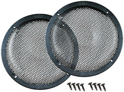 "Pair Of 12"" Sub Woofer High Excursion 12In Metal Speaker Grills Grill12Deluxekit"