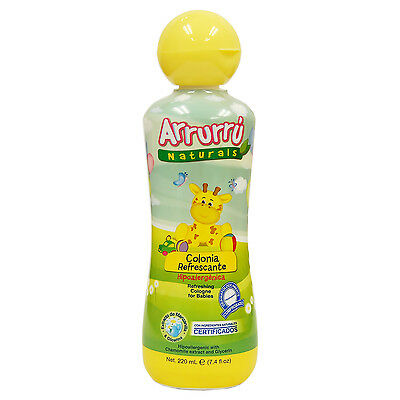 Arrurru Naturals Refreshing Cologne for Babies, Colonia Refrescante 7.4 oz