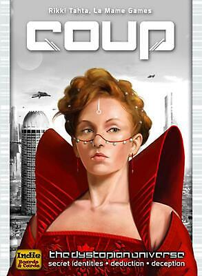 Coup (The Dystopian Universe) - Indie Boards & Cards Free Shipping!