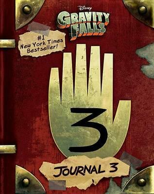 Gravity Falls: Journal 3 by Rob Renzetti (English) Hardcover Book Free Shipping!