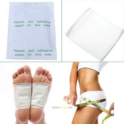 10/30/100Pcs Detox Foot Pads Patch Detoxify Toxins Adhesive Keep Fit Health Care