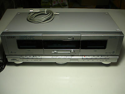 Ion tape2PC cassette player with USB tape deck