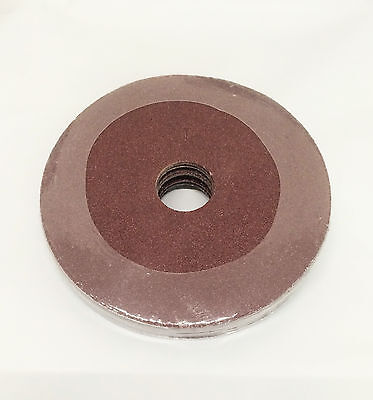 "NEW 10pc 4.5"" 40,50,60,100 Grit Resin Fiber Disc Grinding & Sanding Discs"