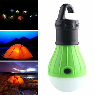 Outdoor Hanging Camping Tent Light 3LED Bulb Fishing Lantern Lamp Durable ABS M2