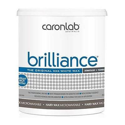 NEW Caron Labs Brilliance Microwavable Hot Wax 800g #2WHBR8