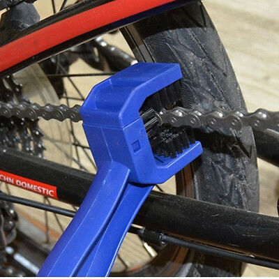 Cycling Motorcycle Bicycle Bike Chain Set Crankset Brush Cleaner Cleaning ToolMD