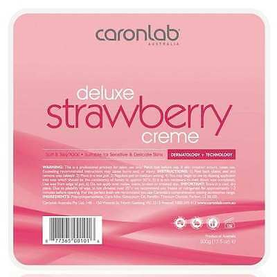 NEW Caron Labs Strawberry Hot Wax 500g #2WHSC5