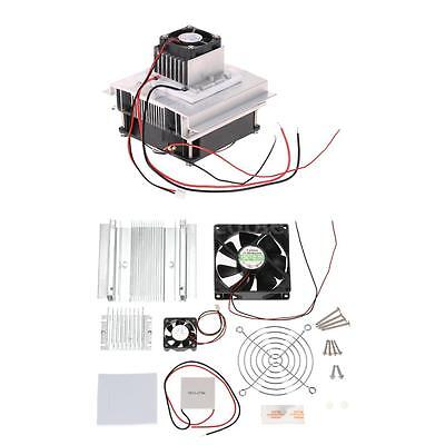 DIY Thermoelectric Peltier Cooling System Kit Semiconductor Cooler Heatsink G9K9