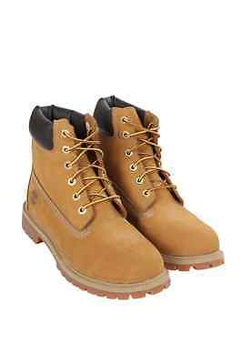 12909 Kids Grade School 6-Inch Classic Waterproof Boot Timberland Wheat Nubuck