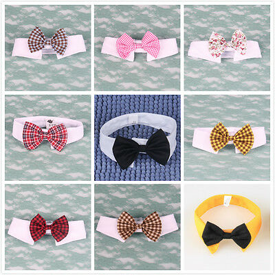 Fashion Adorable Dog Cat Pet Puppy Kitten Toy Bow Tie Necktie Collar Clothes Hot