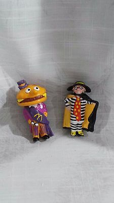 2 x McDonalds Happy Meal Toys - McDonald Mascots