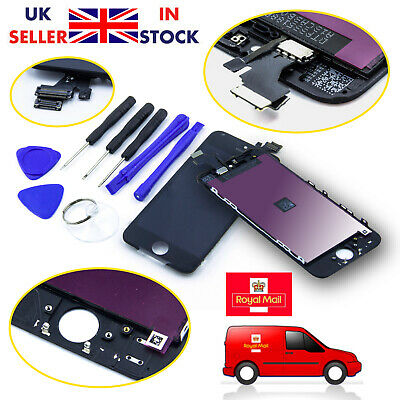iPhone 5/SE/5S/5C/6 LCD Display Touch Screen Digitizer Assembly Replacement UK