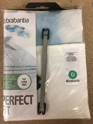 Brabantia Ironing Board Cover Size D,Size D 135x45 Extra Large Neutral Patterns