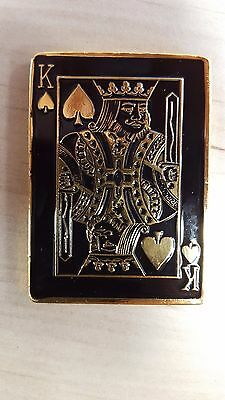 Unique Square Poker King Card Guard
