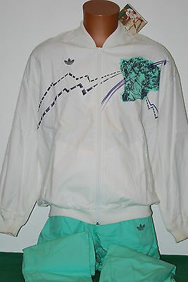 vintage adidas stefan edberg full tracksuit us open collection NOS 80s 90s borg
