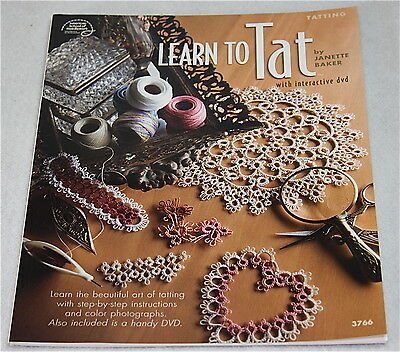 Learn To Tat with Interactive DVD by Janette Baker