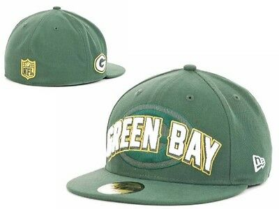 c1c2685c7 NWT NFL Green Bay Packers New ERA 2012 Draft 59FIFTY Fitted Hat Cap Adult-GD