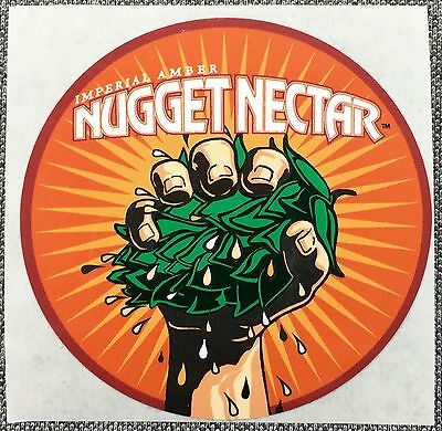 TROEGS BREWING NUGGET NECTAR Sticker Decal 2.5in si Brewery