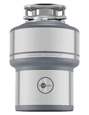 1 HP Garbage Disposal Heavy Duty Continuous Feed Quiet Sink Waste Disposer Easy