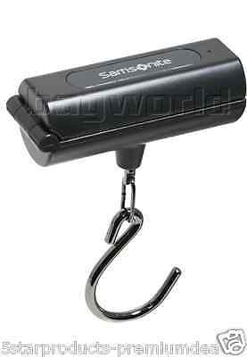 NEW SAMSONITE TRAVEL ACCESSORIES FOLDABLE DIGITAL LUGGAGE SCALE BLACK 40 kg TRIP