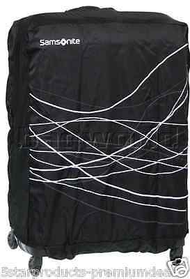 New Samsonite Travel Accessories Foldable Luggage Cover Medium Black Suitcase