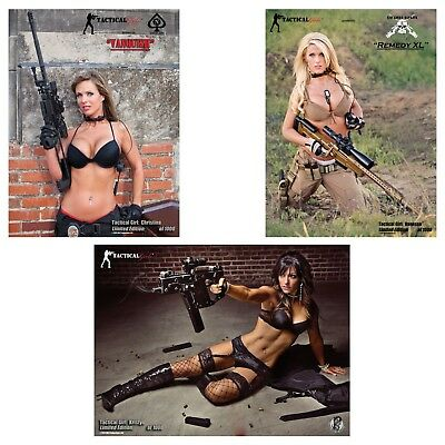 Tactical Girls Signed Poster 3 pack -$35.99 with S&H for U.S. APO/FPO USMC Army