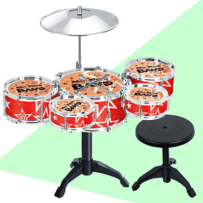 Classical Jazz Drum Set Percussion Instrument Musical Toy Toys for Children