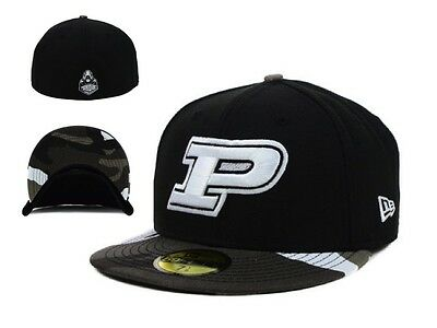 finest selection 47c24 d43fd NWT New NCAA Purdue Boilermakers New ERA Urban Camo 59FIFTY Fitted Hat Cap  GD