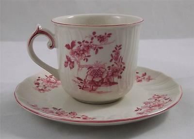 Villeroy & and Boch VIEUX BRUXELLES coffee cup and saucer NEW