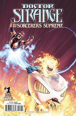 Doctor Strange Sorcerers Supreme #1 (2016) 1St Print Champions Variant Cover Now