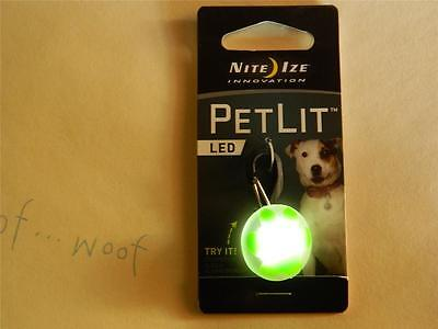 NITE IZE innovation PETLIT LED for the pets collar.