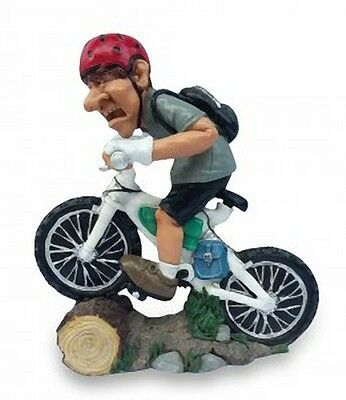 MESTIERI FUNNY COLLECTION LES ALPES - CICLISTA MOUNTAINBIKE 014 99654 Caricatura