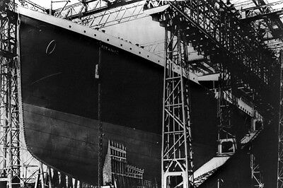 New 5x7 Photo: RMS TITANIC Ship Ocean Liner During Construction, 1911