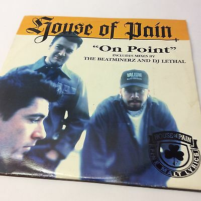 """House of Pain 'On Point' EX/VG Beatminerz DJ Leathal  Vinyl EP 12"""""""