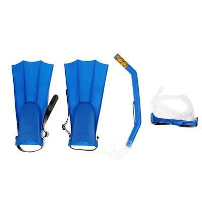 Adult Snorkel Mask & Fin/Flippers Scuba Swimming Diving Snorkelling Set