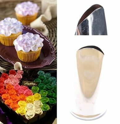 FD3648 Flora Flower Stainless Steel Cake Cup Mold Icing Piping Nozzle Fondant