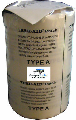TEAR AID Type A Repair Patch 15cm x 15cm (Square) - Canvas, Sail, Kite, Pack