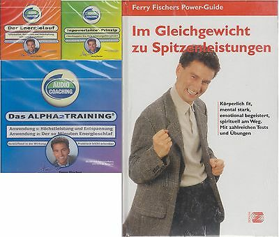 Ferry Fischers Power-Guide Set - Buch Plus 3 CDs im Set - Spitzenleistungen - Al