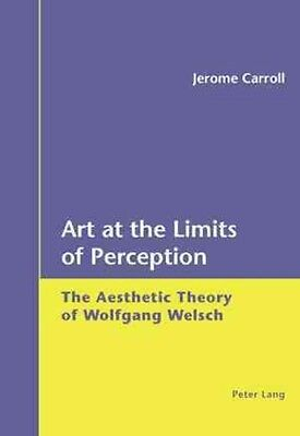 Art at the Limits of Perception by Jerome Carroll Paperback Book (English)