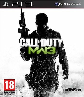 Call of Duty Modern Warfare 3 PS3 playstation 3 jeux jeu tir game games lot 214