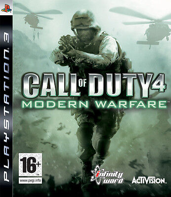 Call of Duty 4 Modern Warfare PS3 playstation 3 jeux jeu shooter game games 212
