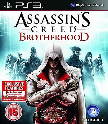 Assassin's Creed Brotherhood PS3 playstation 3 jeux jeu game games spellen 134
