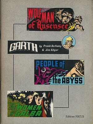 Eo Éditions Focus 1979 Frank Bellamy + Jim Edgar : Garth ( 3 Histoires )