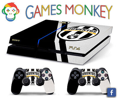 Skin PS4 JUVENTUS SCUDETTO LOGO ULTRAS limited edition DECAL COVER Playstation 4