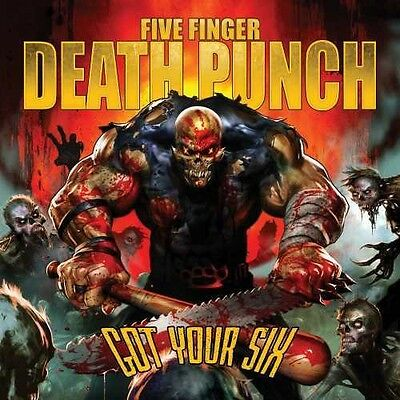 Five Finger Death Punch - Got Your Six [New CD] Clean