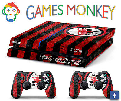 Skin PS4 FOGGIA CALCIO ULTRAS limited edition DECAL COVER Playstation 4 SONY