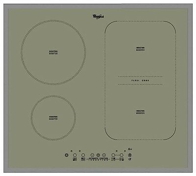 Whirlpool ACM 808/BA/S Silver Induction Hob 60 cm - Eco booster - Touch Control