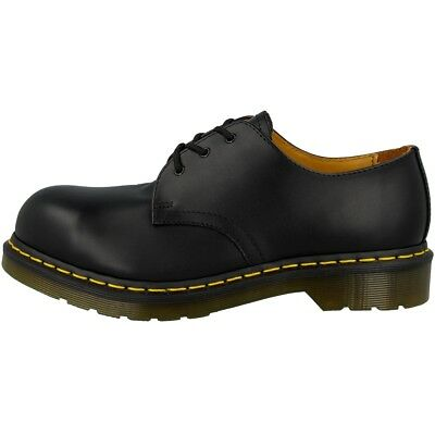 Dr Doc Martens 1925 Schuhe 3-Loch Stahlkappe Boots black fine haircell 10111001