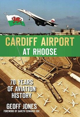 Cardiff Airport at Roose by Geoff Jones Paperback Book (English)
