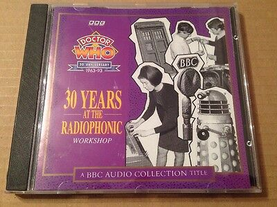 Doctor Who 30th Anniversary 30 Years At The Radiophonic Workshop Cd Rare N.Mint